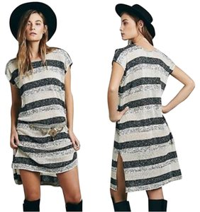 Free People short dress Multi Tones/White/Gray/Gold/+ Some Shimmer on Tradesy