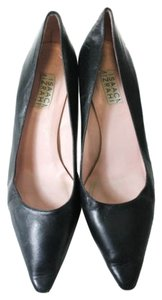 Isaac Mizrahi Kitten Heels Black Pumps