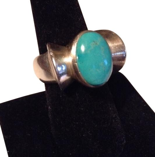 Other Turquoise/Sterling Ring (Size 8.5)