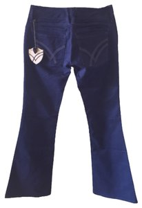 William Rast Flare Pants Blue