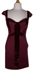 Free People short dress Black Cherry on Tradesy