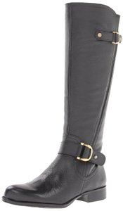 Naturalizer Wide Calf Black Boots