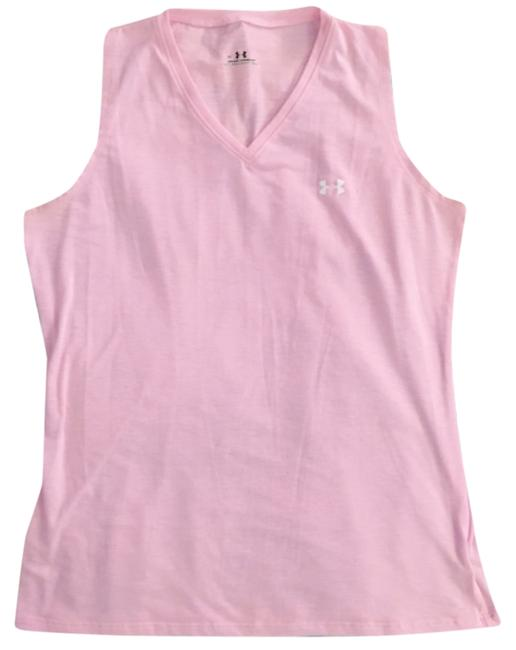 Under Armour Pink Athletic Activewear Top Size 4 (S, 27) Under Armour Pink Athletic Activewear Top Size 4 (S, 27) Image 1
