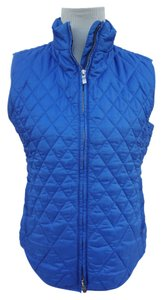 Talbots Quilted Quilted Two Way Zip Vest