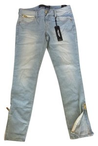Express Straight Leg Jeans-Acid