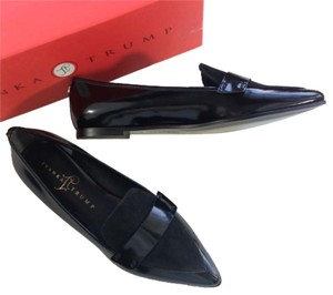 Ivanka Trump Patent Leather Penny Loafer black Flats