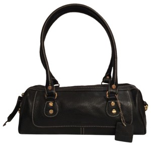 Isaac Mizrahi Leather Satchel Shoulder Bag