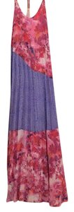 Pink and blue Maxi Dress by Charlie jade