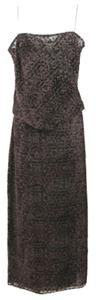Anne Klein Velvet Skirt Dress