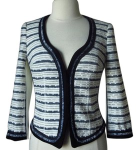 White House | Black Market Tweed Striped Jacket