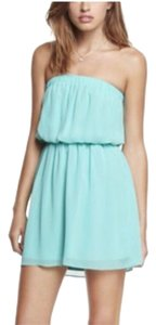 Express short dress Mint on Tradesy