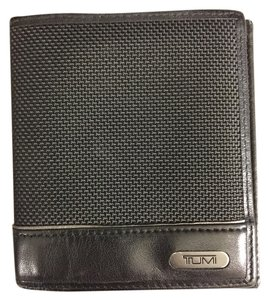 Tumi Ballistic Nylon and Leather Bifold Wallet