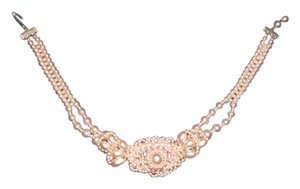 Other Pink Pearl Vintage Costume Necklace 16 inch,Free Shipping