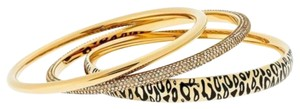 Michael Kors Michael Kors MKJ4543710 Gold tone Glitz Set of 3 Bangle Bracelets $185