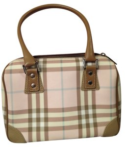 Burberry Bowling Satchel in Pink