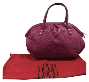 Carolina Herrera Satchel in Purple