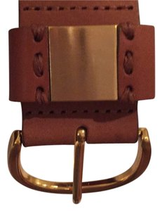 Massimo Dutti MASSIMO DUTTI Brown Leather Belt