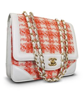 Chanel Vintage Rare Celebrity Fashion 2.55 Classic Cross Body Bag