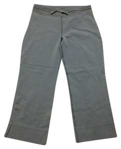 lucy Drawstring Cropped Stretch Pants