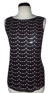 White House | Black Market Sequin Top black
