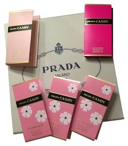 Prada 5 Prada Sample Sprays in A Keepsake Box