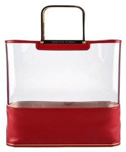 Charlotte Olympia Red Leather Tote