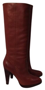 Frye Leather Chic Cognac , Brown Boots