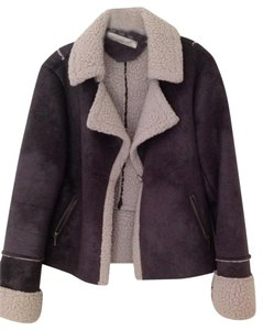 True Grit Dark Brown, Beige Jacket