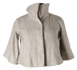 Guess Women's Wool Jacket Brown and Gray Blazer