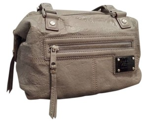 L.A.M.B. Gray Lamb Satchel in Grey
