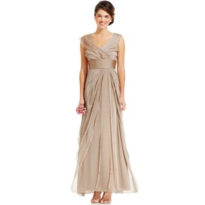 Adrianna Papell Beige/Champagne Dress