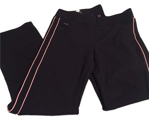 Ralph Lauren Straight Pants Black and pink