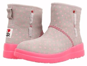 UGG Australia Pink/Gray Boots