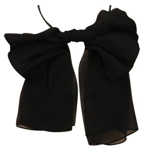 Saint Laurent Ribbon Tie, Bow Tie For Women