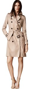 Burberry Heritage Womens Ladies Brit London Fashion Style England Womens Womens Jacket Womens Kensington Size 12 Long Trench Coat