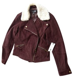 Forever 21 Chic Corduroy Motorcycle Jacket