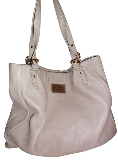 Item - Classic Hillier Soft Slouch Beige Taupe/Off White Leather Hobo Bag