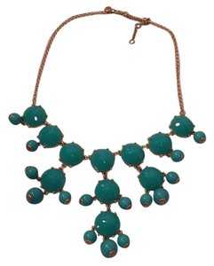 J.Crew Turquoise Blue Bubble Necklace