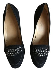 Herms Black Pumps