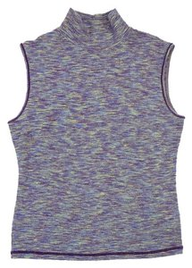 Missoni Sleeveless Mock Turtleneck T Shirt