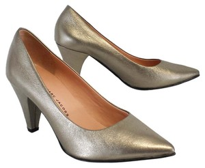 Marc by Marc Jacobs Metallic Leather Pumps