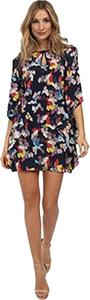 Trina Turk short dress Print Silk Kimono Sleeve Keyhole on Tradesy