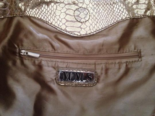 MMS Tote in Gold
