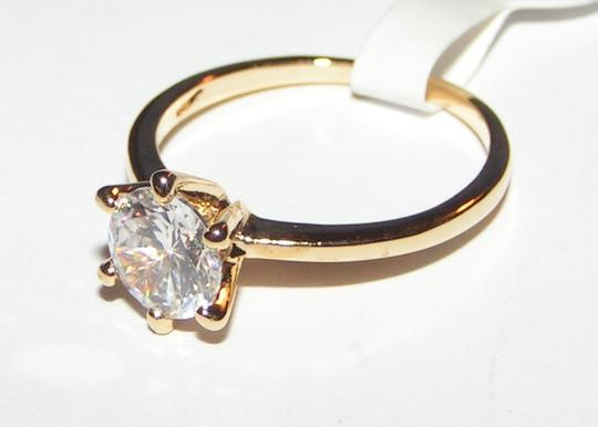 Bogo Free White Topaz Solitaire Ring Free Shipping