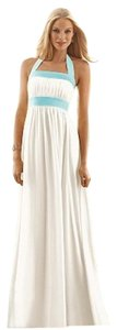 Ivory Maxi Dress by After Six Full Length