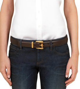 Gucci Gucci Belt 339068 women size 30 brown