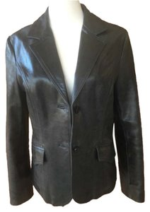 For Joseph Pure black Leather Jacket