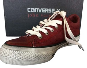 Converse John Varvatos Sneakers Canvas Leather Oxblood Athletic
