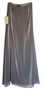 Ann Taylor Holiday Maxi Skirt Silver
