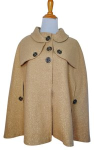 Burberry Coat Jacket Wool Cape
